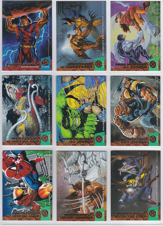 Marvel Comic Collector/'s Amazing X-Men #1-4 Set Fleer Ultra X-Men Card Pack