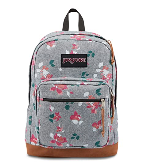 da92c4dc76 JanSport Right Pack Expressions Laptop Backpack (Chambray Sweet Blossom)   Amazon.in  Bags