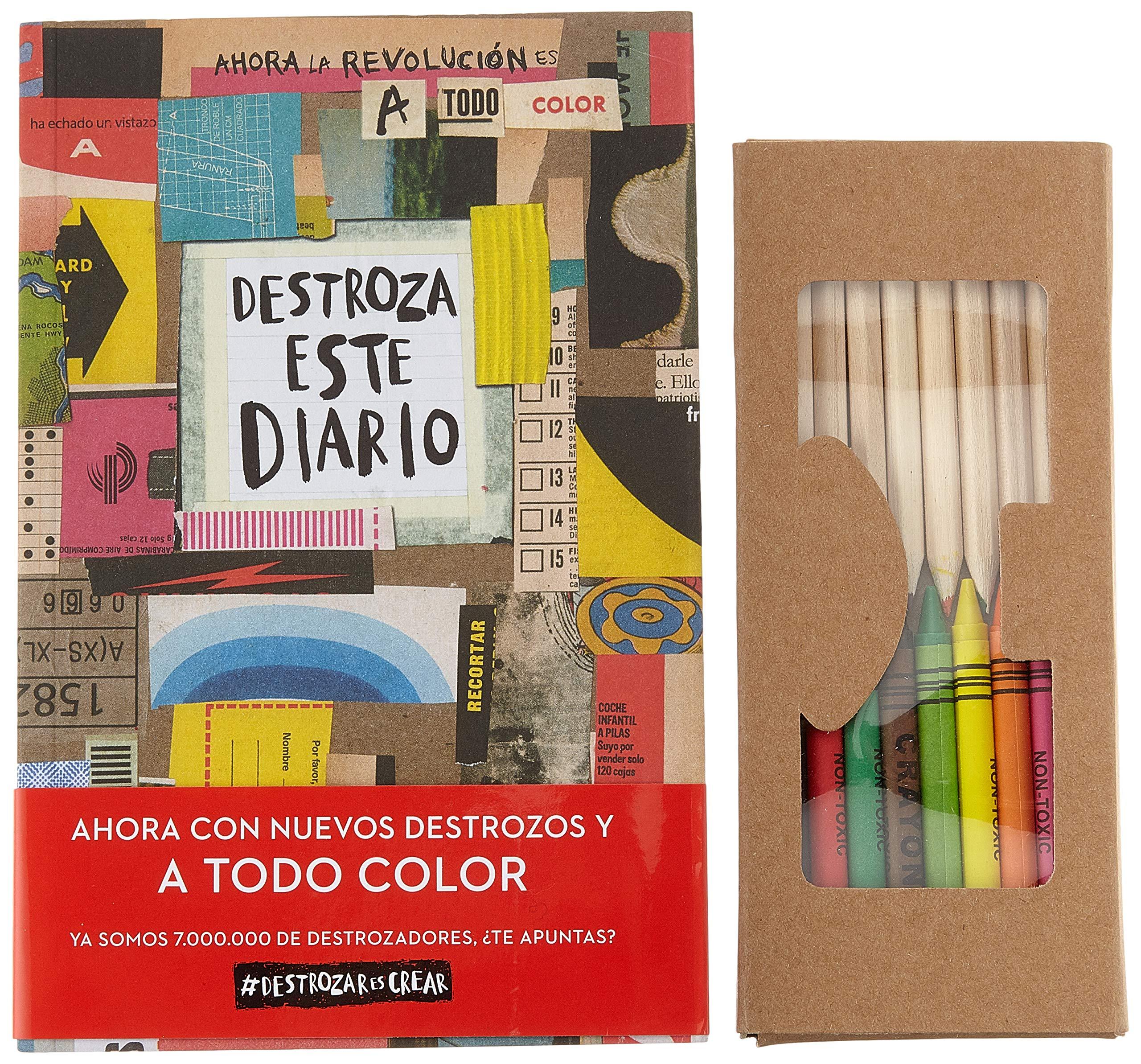 Pack Destroza este diario Navidad 2018 Libros Singulares: Amazon.es: Smith, Keri, Diéguez Diéguez, Remedios: Libros