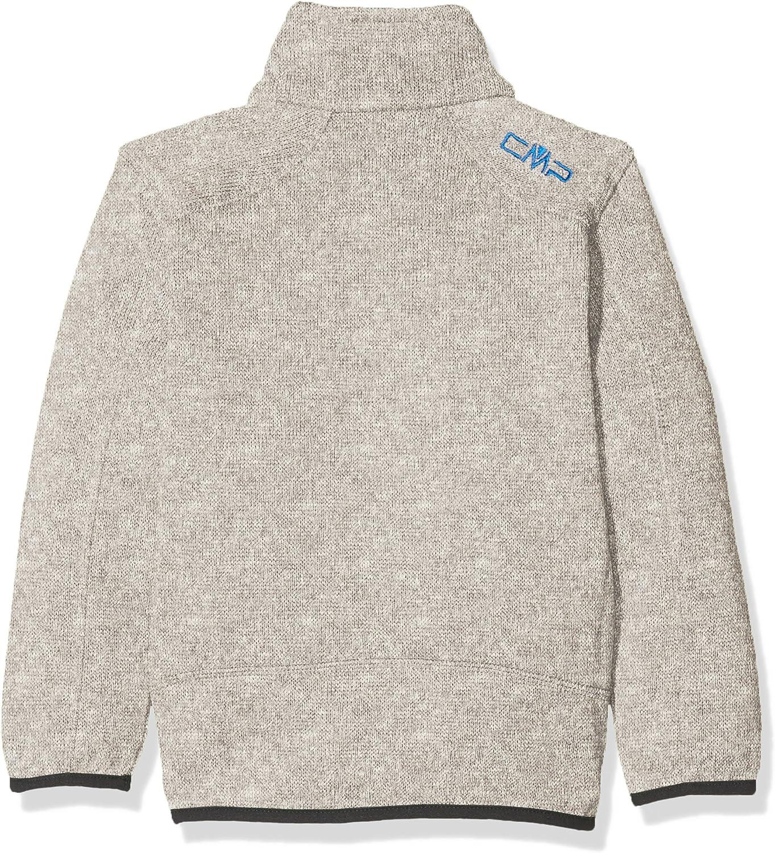 CMP Knit Tech 3H60744 Giacca di Pile Bambino Argento Argento//White 140