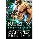 Kozav (Scifi Alien Romance) (Dragons of Preor Book 3)