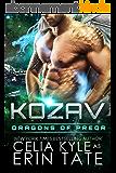 Kozav (Scifi Alien Romance) (Dragons of Preor Book 3) (English Edition)