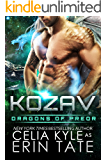 Kozav (Scifi Alien Romance) (Dragons of Preor Book 3)
