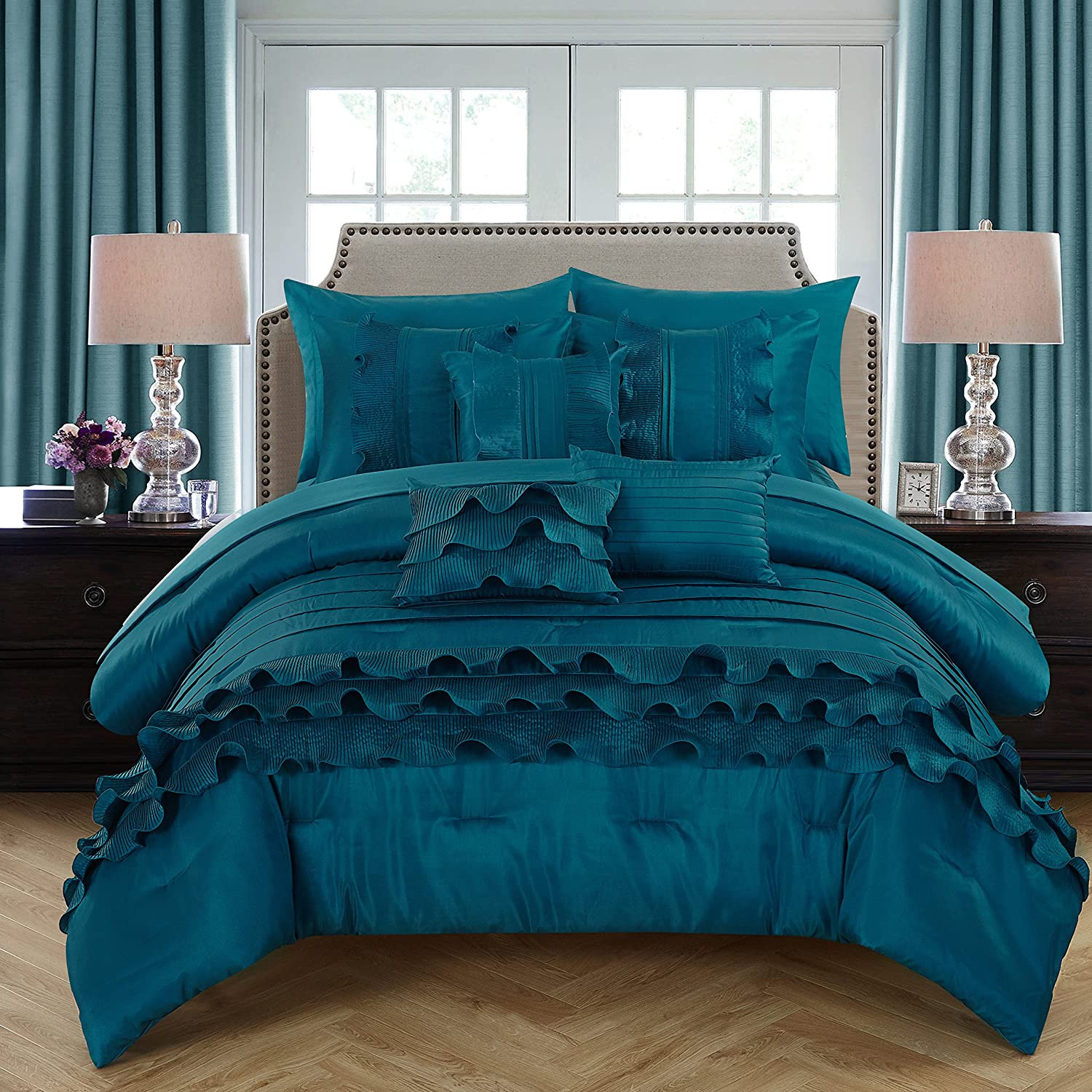 Cheap teal bedding sets with more ease bedding with style for Super cheap bedroom sets