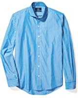 Buttoned Down Men's Slim Fit Cutaway-Collar Sport Shirt Without Pocket