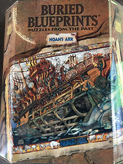 Amazon buried blueprints noahs ark toys games buried blueprints noahs ark malvernweather Gallery