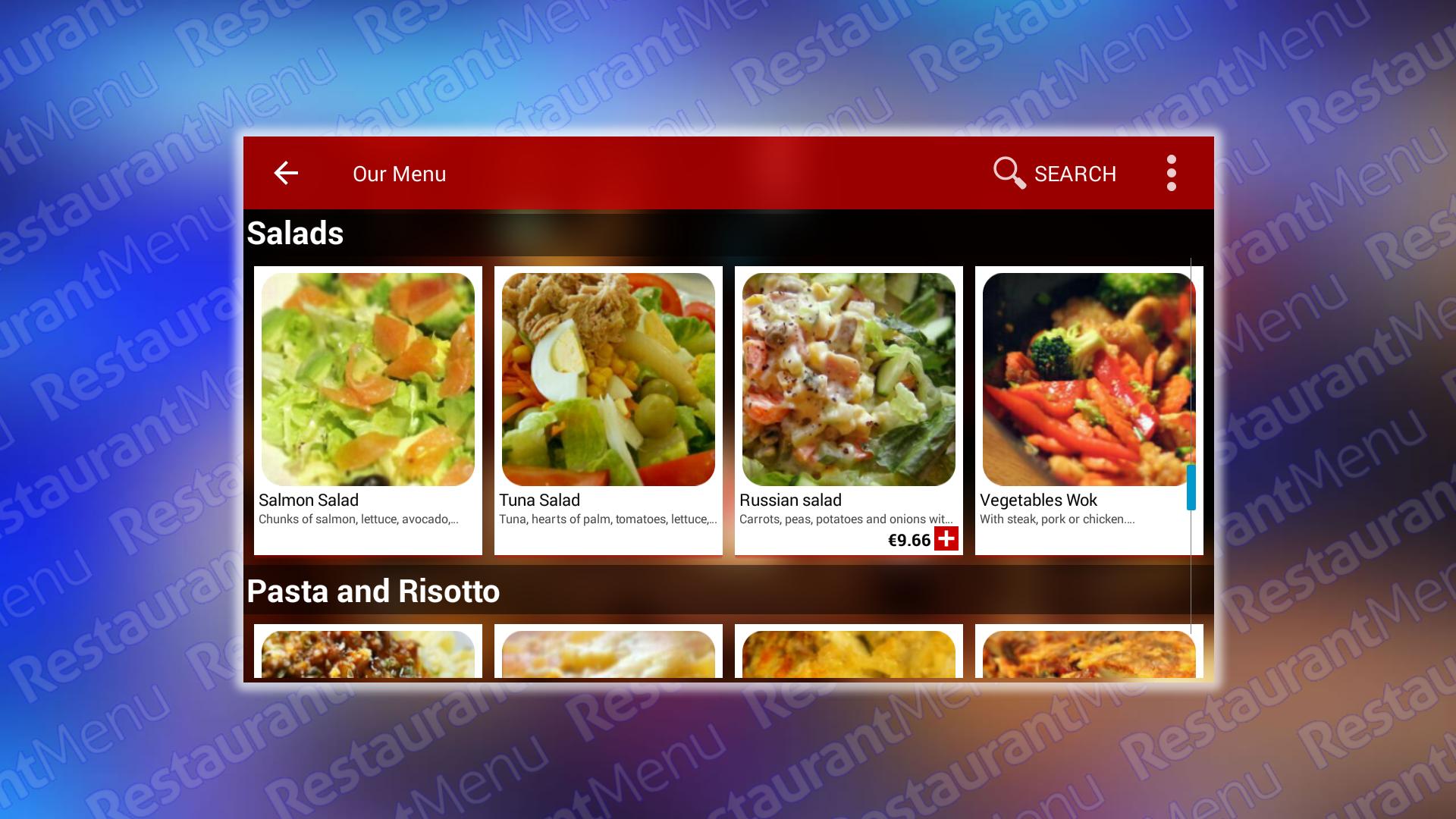 Restaurant Menu: Amazon.es: Appstore para Android