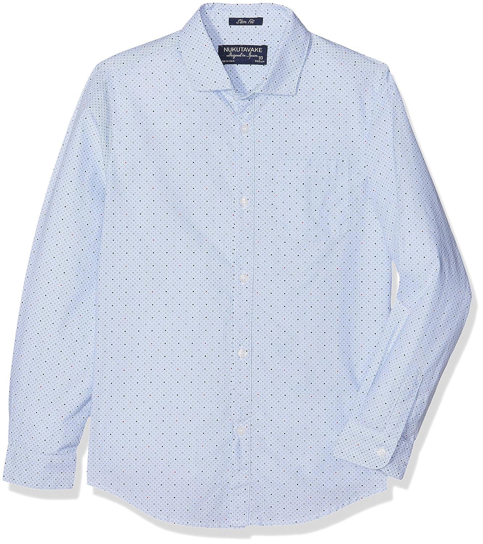 Mayoral Junior Boys Light Blue Patterned Shirt Sizes 8-16