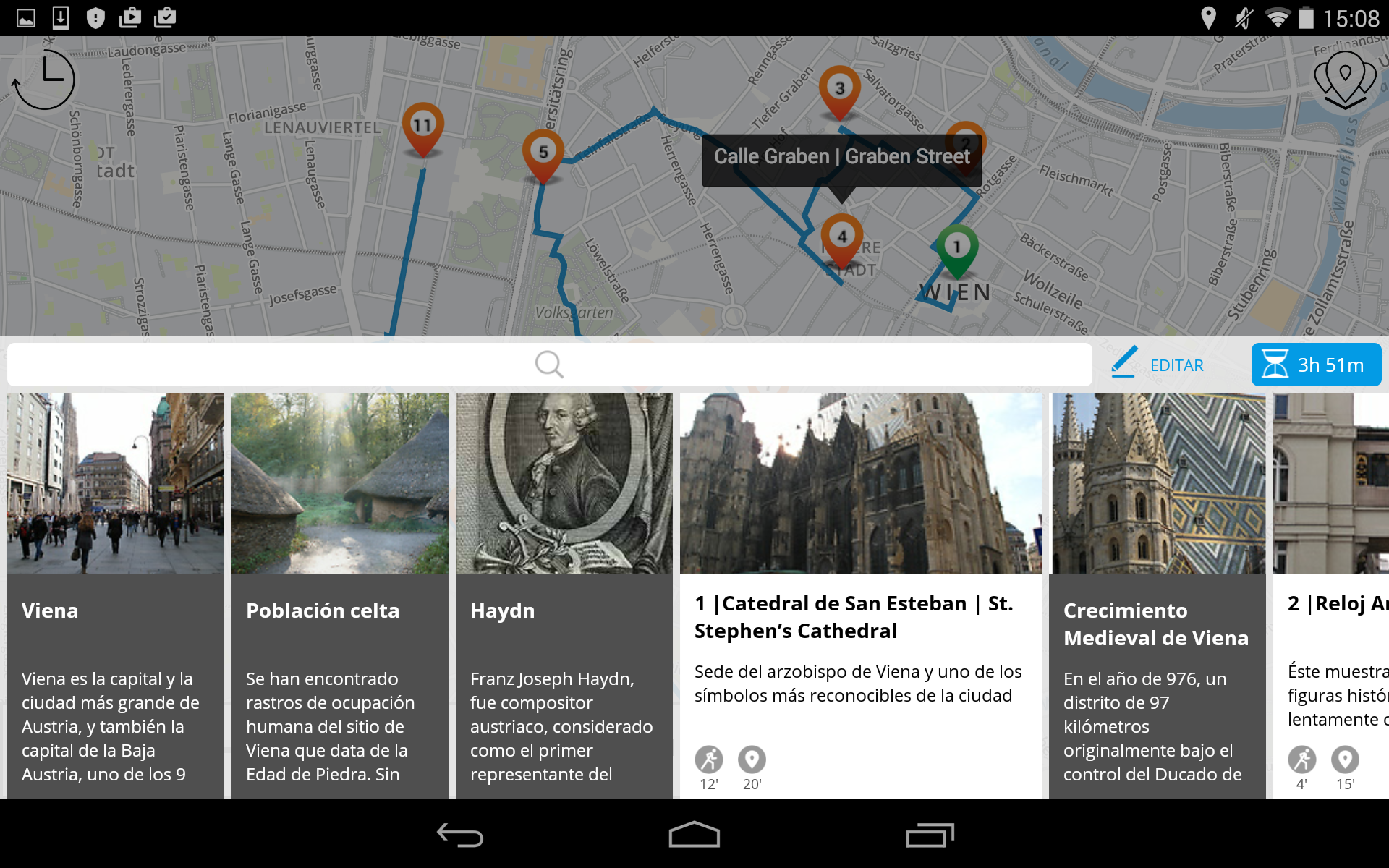 Amazon.com: Vienna Premium | JiTT City Guide & Tour Planner with Offline Maps (German Version): Appstore for Android