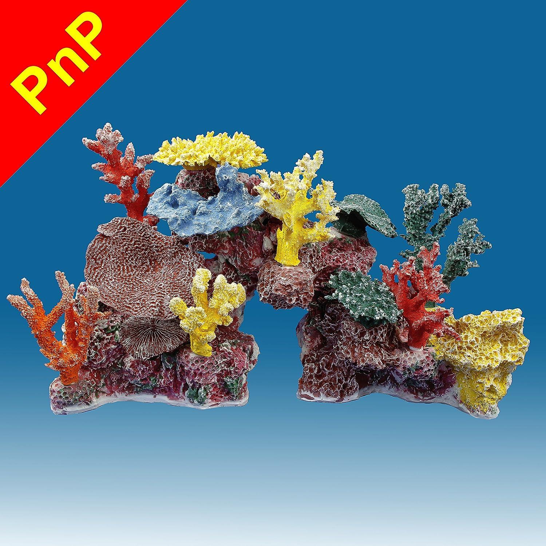 Amazon Instant Reef DM045PNP Artificial Coral Reef Aquarium