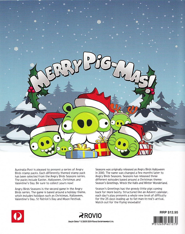 Amazon Angry Birds Seasons Greetings Christmas Collectible