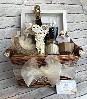 Luxury Wedding Gift Basket - And So The Adventure Begins Picnic ...
