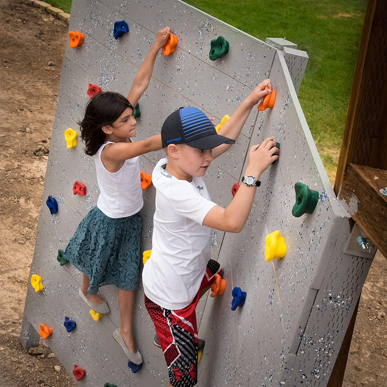 Amazon 20 Deluxe Extra Assorted Rock Climbing Holds