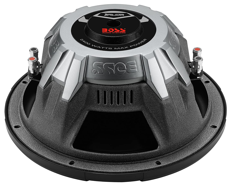 Amazon.com: BOSS Audio AR12D 2400 Watt, 12 Inch, Dual 4 Ohm Voice Coil Car  Subwoofer: Car Electronics
