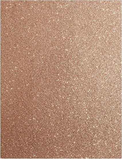 5 Sheets A4 Red Gold Glitter Paisley Handmade 130gsm Paper Ideal for Wedding