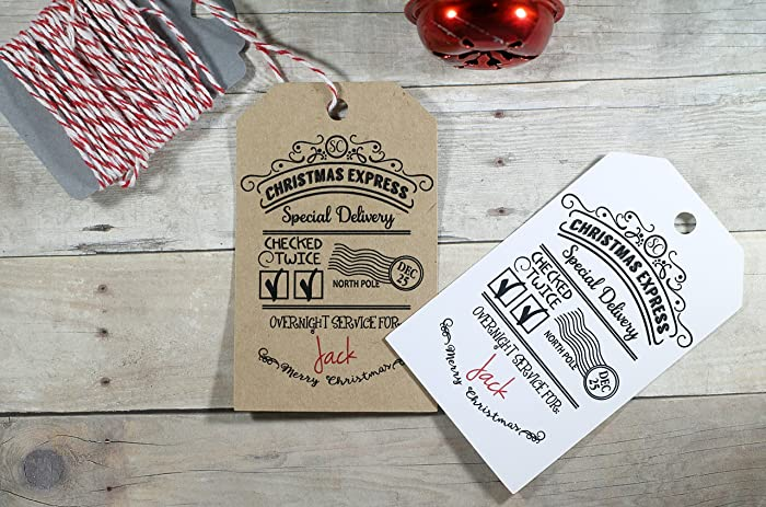 amazon com children s christmas gift tags special delivery from