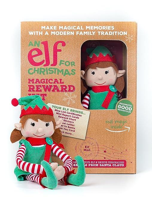 an elf for christmas elf002 girl magical reward kit amazon co uk