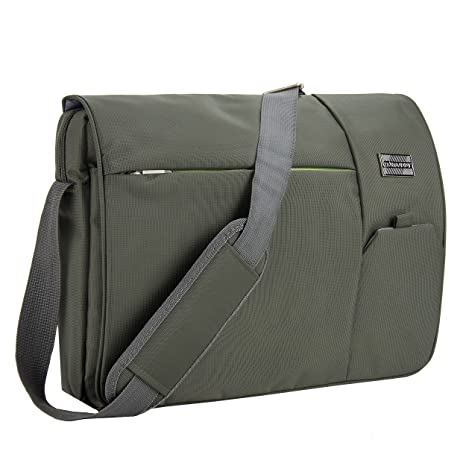 Amazon.com: VanGoddy Olive Green Executive Anti-Theft Laptop ...