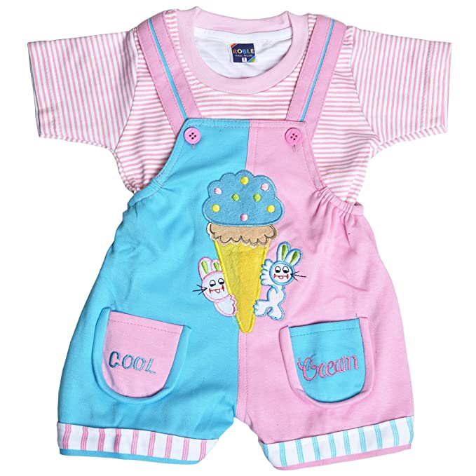 56d4e591a1b Roble Party Wear Romper Baba Suit Dungree Jumpsuit Outfits For Newbron  Babies Boys   Girls 6