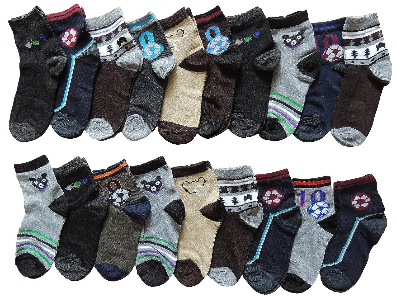 10 Stück Jungen Socken Größe 27-38 HR-397