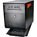 Mail Boss 7106 Curbside Security Locking Mailbox, Black,Medium