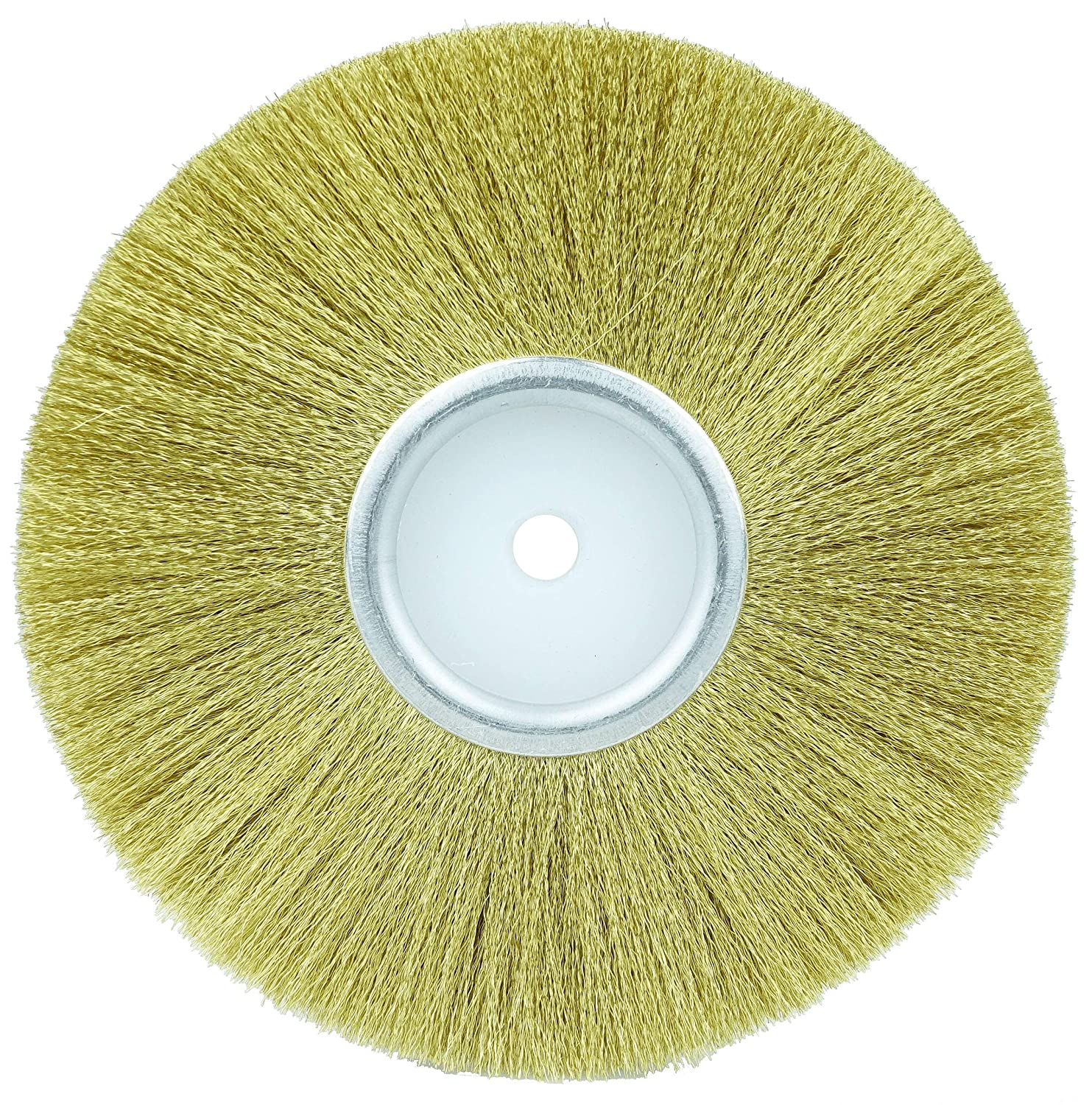 Pack of 12 1//4 Arbor Hole Weiler 22021 3 Platers Crimped Wire Wheel.003 Brass Fill