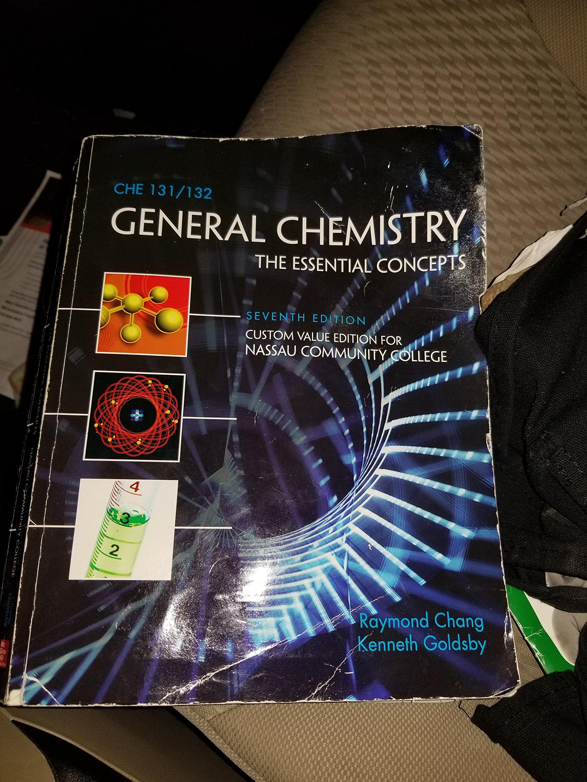 General Chemistry the Essential Concepts Seventh Edition (Custom Value  Edition for Nassau Community College) with CONNECTPLUS access code: Raymond  Chang, ...