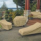 Classic Accessories Terrazzo Patio Bench/Loveseat