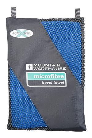 Mountain Warehouse Toalla Grande del Recorrido de Microfibre - Toalla compacta del Gym, Toalla de