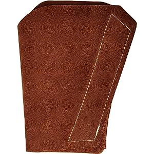 Lapco FR LAP-AL Leather Arm Pad, Left Arm, One Size, Tan