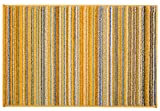 Rugshop Contemporary Modern Stripes Area Rug 2' x