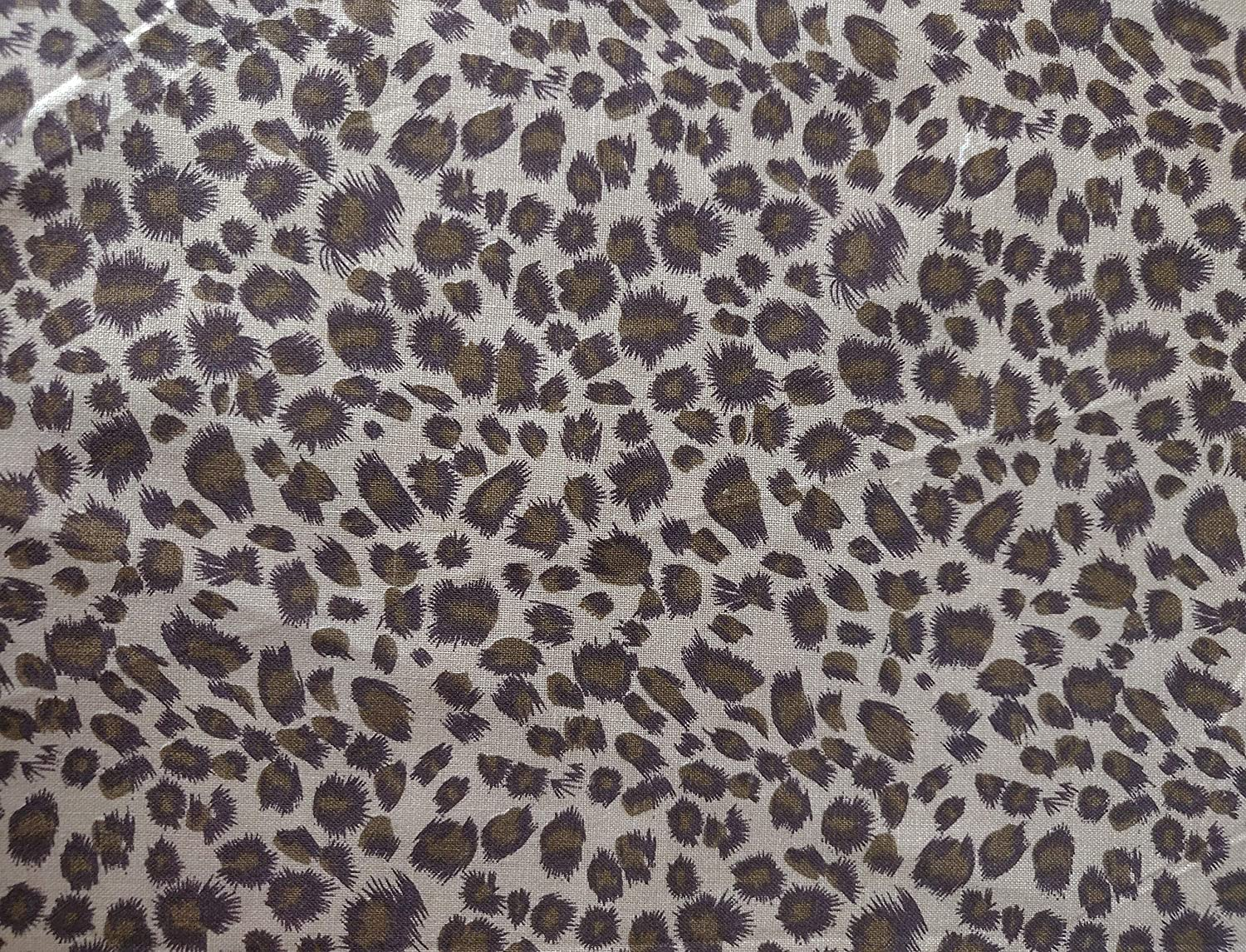 Quilting Fabric Squares Cotton Fabric Squares 45 x 55cm Animals Printed Fabric Bundles 3pcs 18 x 22 inches Leopard Pattern Fat Quarters Fabric Bundles Sewing Fabric