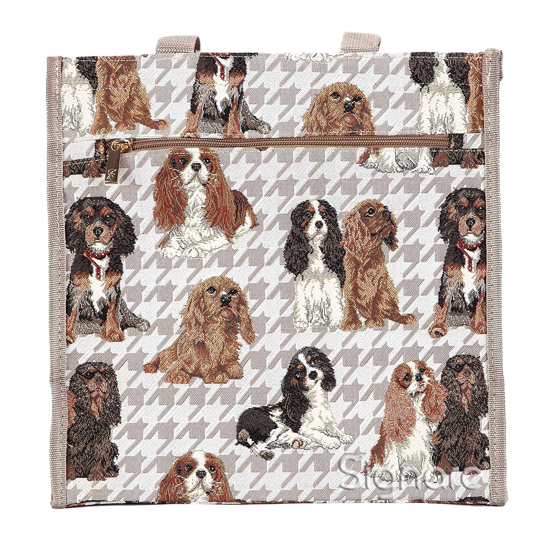 Signare Womens Fashion Tapestry Shopper Bag Shoulder Bag Animal