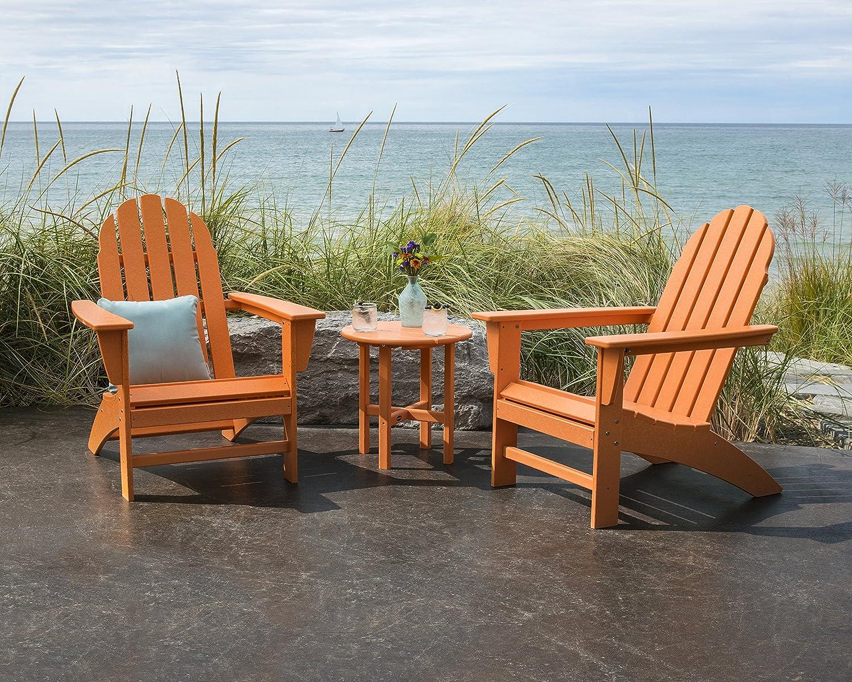 Green POLYWOOD Vineyard Adirondack Chair