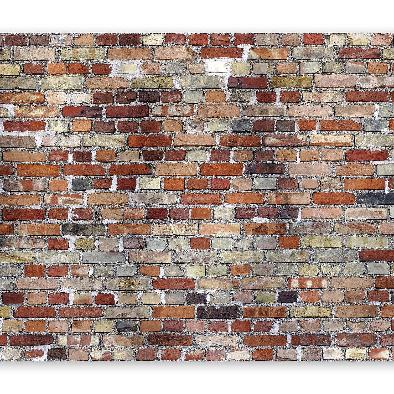 murando Papier peint intiss/é Pierre Optique 400x280 cm D/écoration Murale XXL Poster Tableaux Muraux Tapisserie Photo Trompe loeil Mur Pierre Optique 3D f-B-0127-a-a