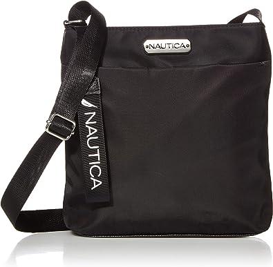 Nautica womens Diver Nylon Small Womens Crossbody Bag Purse With Adjustable Shoulder Strap Cross Body