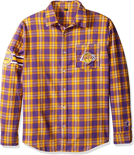Mens FOCO MLB mens Lightweight Flannel Hooded Jacket