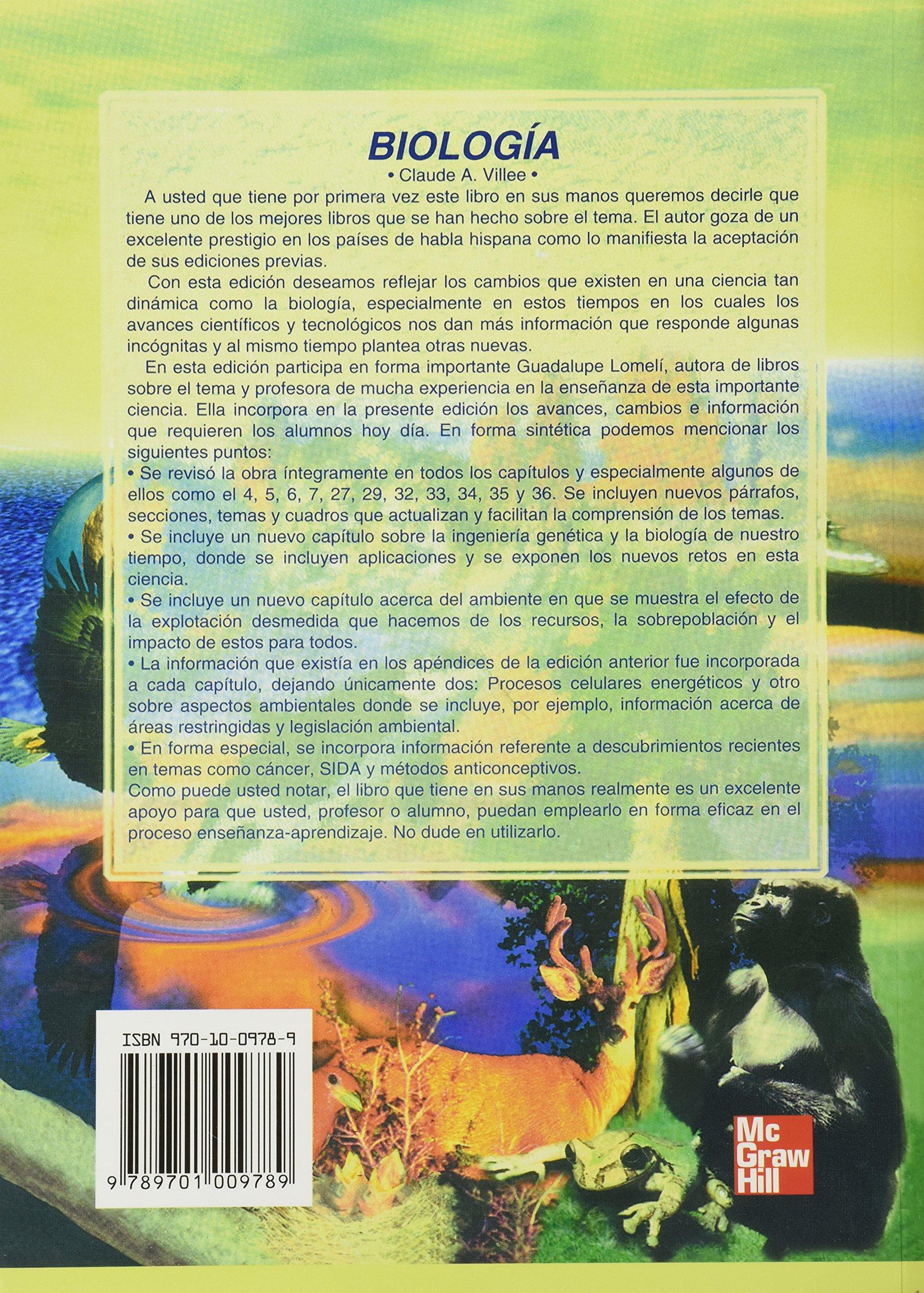 Libro De Biologia Claude Villee Pdf 25