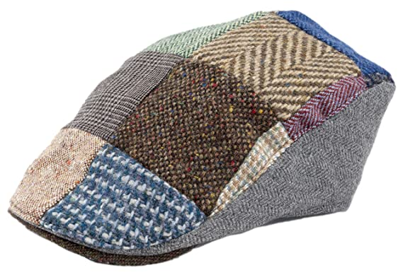 Image Unavailable. Image not available for. Colour  Hanna Hats Men Donegal  Tweed Donegal Touring Cap ... 3be7f50c0db