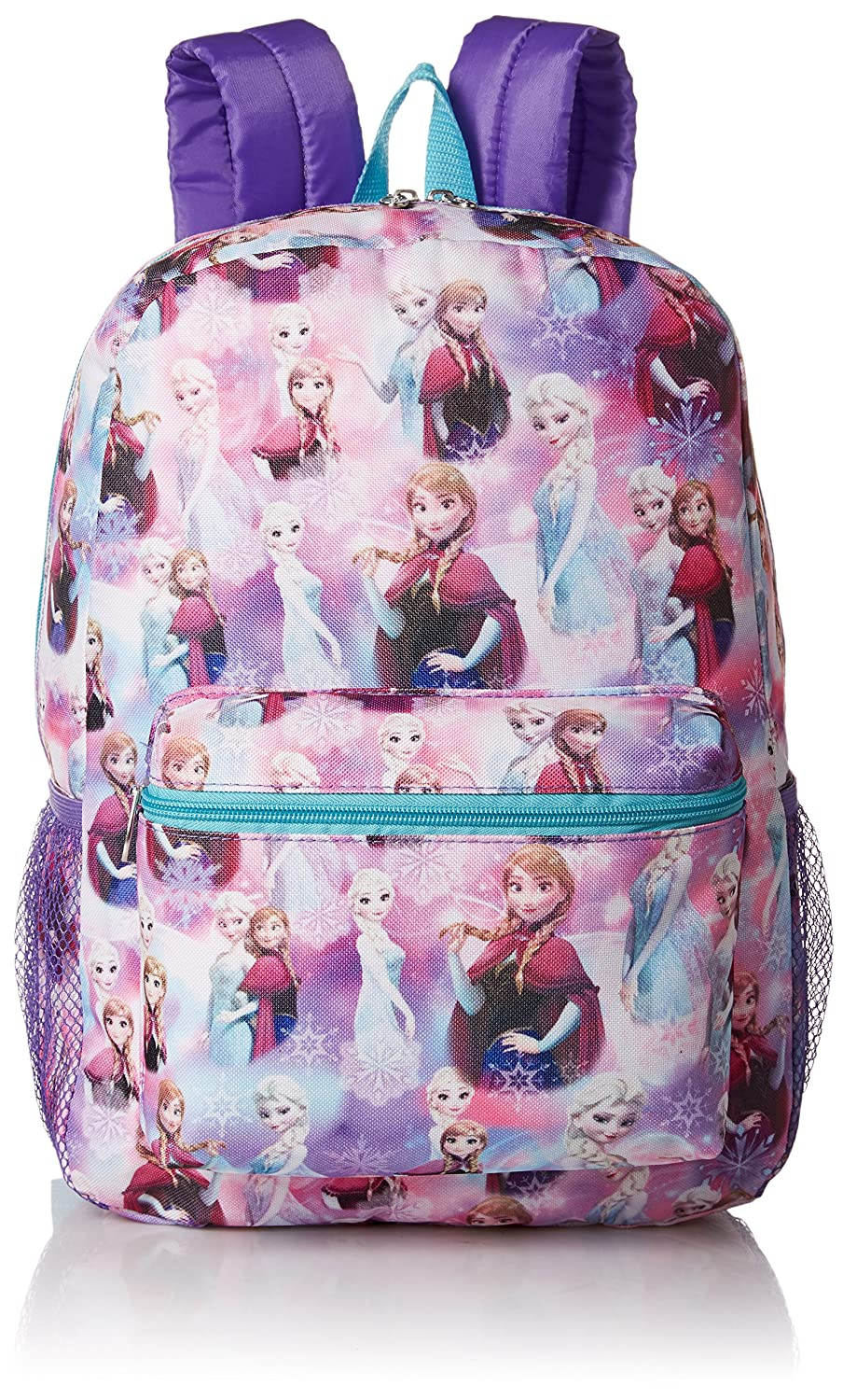low-cost Disney Girls  Frozen All Over Print Backpack 4b208ca2b960b