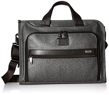Tumi Alpha 2, Porte-documents Mince de Luxe, Earl Grey 026110EG2