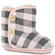 5871cdfbc34 UGG Kids Baby Girl s Purl Pine (Infant Toddler) Baby Pink Boot