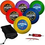 Franklin Sports Playground Balls - Rubber Kickballs and Playground Balls For Kids - Great for Dodgeball, Kickball, and…