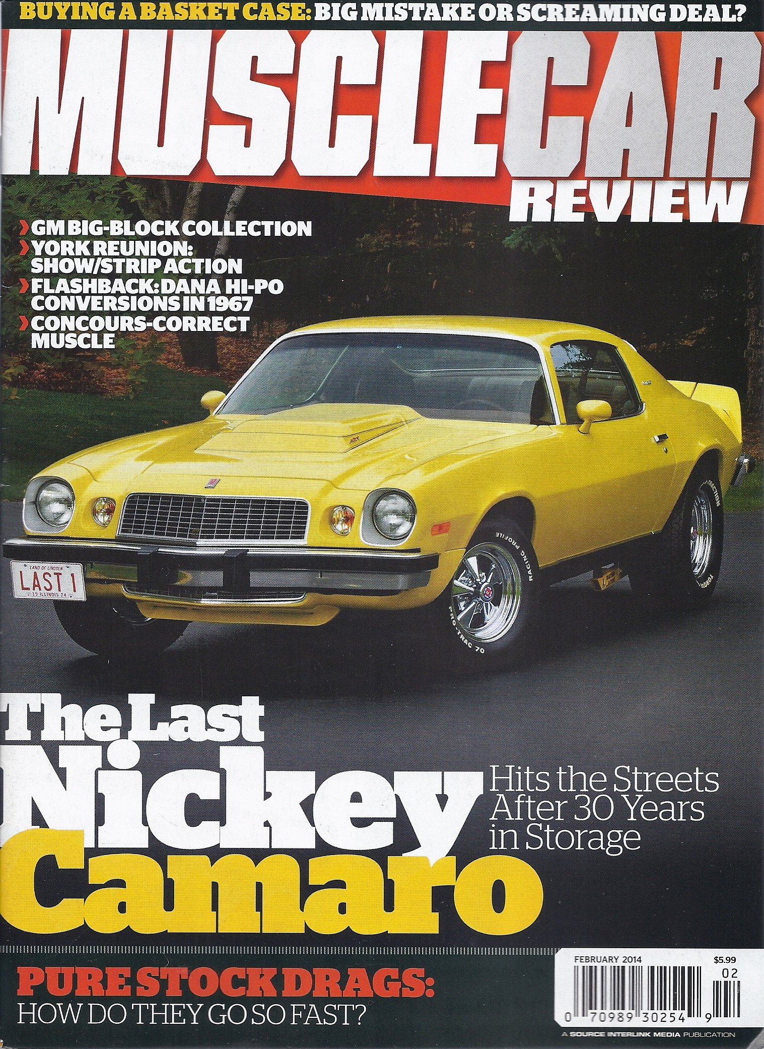 Muscle Car Review (February 2014) pdf epub