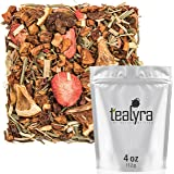 Tealyra - Lovely Lemongrass - Strawberry - Orange - Fruity Herbal Loose Leaf Tea - Hot and Iced Drink - Vitamins and Antioxidants Rich - Caffeine Free - All Natural - 112g (4-ounce)