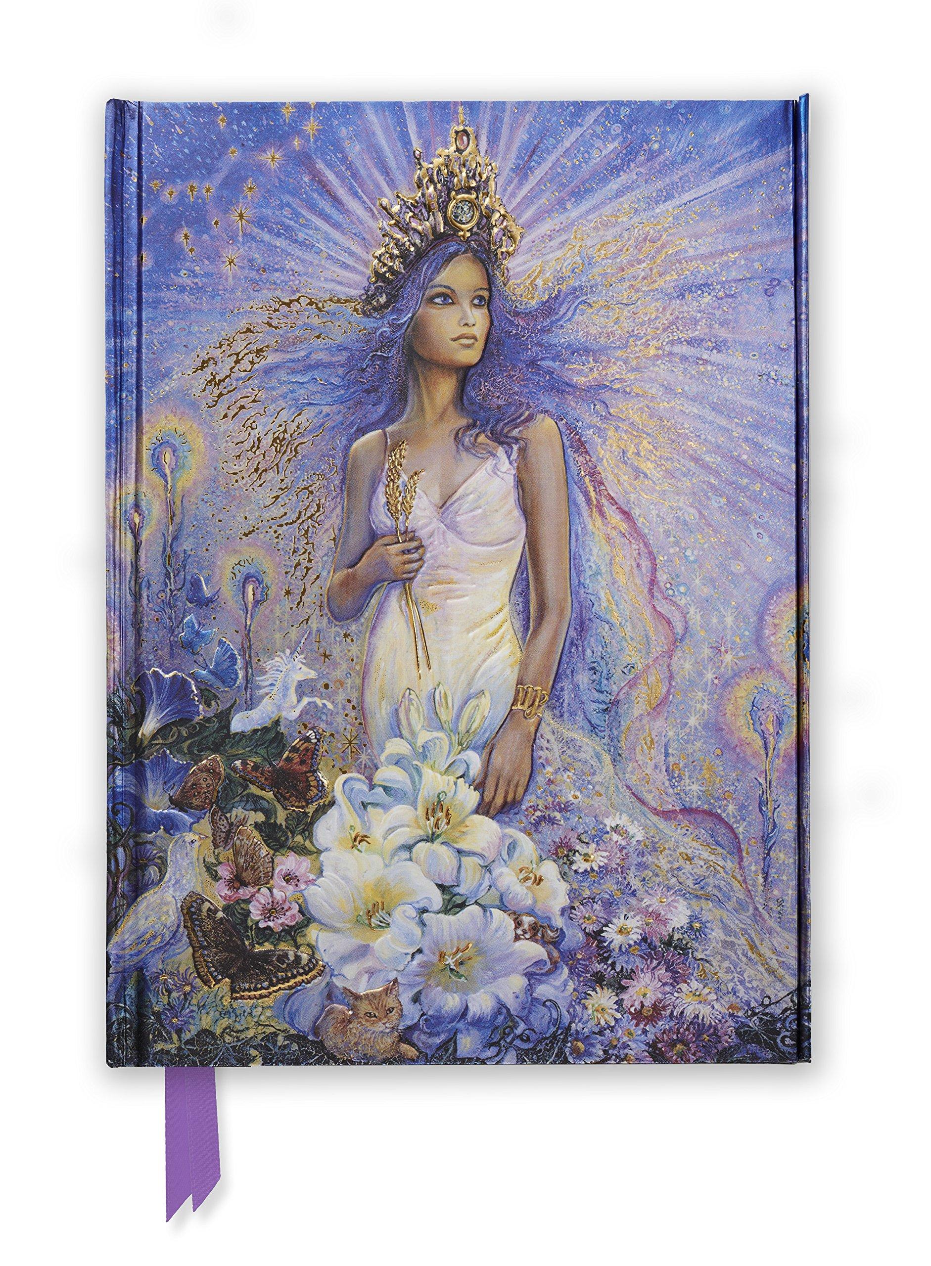 Josephine Wall: Virgo (Foiled Journal) (Flame Tree Notebooks)