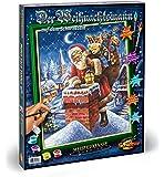 Schipper 609300698 Malen nach Zahlen - Weihnachtsmann auf dem Schornstein, 40 x 50 cm