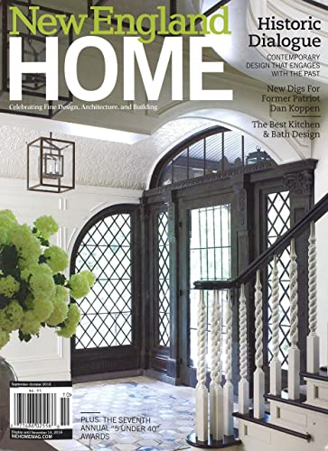 new england home - New Home Magazines