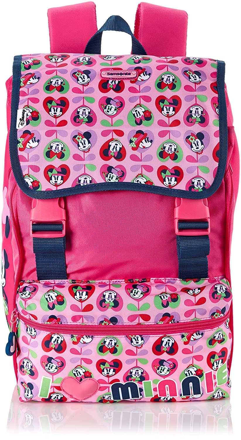 Disney by Samsonite Kinder-Rucksack Disney Wonder Ergonomic Love) Backpack Exp 29.0 Liters Mehrfarbig (Minnie Love) Ergonomic 62317-4404 3b5427