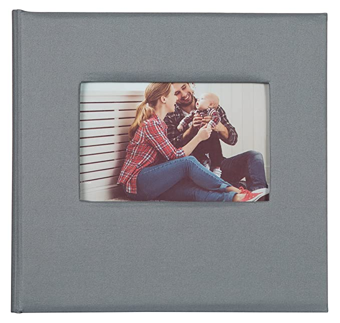 Amazoncom Pinnacle Frames And Accents 2up Grey Fabric Front Album